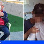 Se encadena en Playa San Juan tras 3 meses sin cobrar la pensión y con la ayuda al alquiler negada