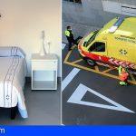 La Candelaria mejora las instalaciones de la base de ambulancias del SUC