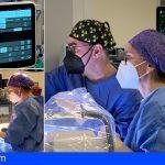 El Hospital de Lanzarote implanta por primera vez un electrodo para tratar un tipo de cefalea