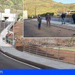 Stgo. del Teide firmó el acta de recepción de las obras entre el Camino Real y la C/ San Fernando en Valle de Arriba