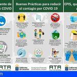 ATA Canarias   Plan de asesoramiento, información y formación para autónomos, en materia de prevención Covid-19