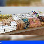 Coalición Canaria en San Miguel recauda unos 200 kg de alimentos en su XI Campaña Solidaria