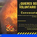 Bomberos Voluntarios de Adeje abre la convocatoria para la captación de voluntariado
