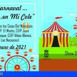 Los CEIP de San Miguel recibirán al Carnaval con una propuesta de espectáculos infantiles