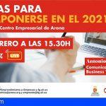 """Arona abre la inscripción para la conferencia """"Seven, 7 notas para recomponerse en el 2021"""", de Antonio Moar"""