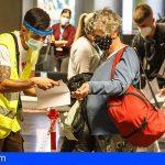 Sanidad prorroga hasta el 28 de febrero el control de pruebas COVID-19 a viajeros nacionales que lleguen a Canarias