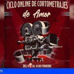 Granadilla ofrece un ciclo de cortos online durante una semana con motivo de San Valentín