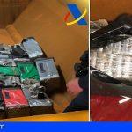 Intervienen en Santa Cruz 387 kilos de cocaína en el interior de un buque procedente de Brasil