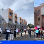 Las familias afectadas por el caso de las VPO en Granadilla reclaman justicia ante el juzgado