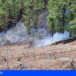 Investigan en La Palma a un sexagenario por un delito de incendio forestal en el paraje de El Tahonero