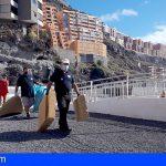 Promemar retira 59 kg de residuos en la costa de Tabaiba