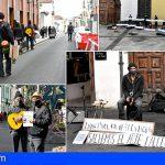 Se levanta la suspensión temporal de la actividad musical en la vía pública en La laguna