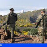 El Mando de Canarias presente en siete islas Canarias