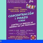 La Asociación para la Defensa de las Pensiones Públicas de Canarias se manifiesta el 1 de marzo