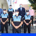 Cuatro oficiales de la Policía Local toman posesión de su cargo en Granadilla de Abona