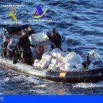 Intervienen un buque con tres toneladas de cocaína frente a las costas de Ribadeo