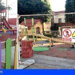 Guía de Isora avanza a buen ritmo las obras de los parques infantiles