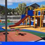 San Miguel mejora la imagen de los parques infantiles de Las Zocas, Oroteanda y parte alta de Llano del Camello
