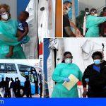 38 migrantes llegaron esta tarde al puerto de Los Cristianos