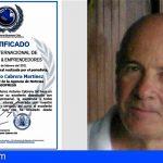 El Club Internacional de Empresarios & Emprendedores, distingue al periodista José Antonio Cabrera