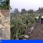 Granadilla acomete trabajos de mantenimiento y conservación de la red de senderos