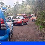 Rescatan a una mujer tras caer 20 metros por un sendero en Tegueste