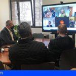 Cabildo y ayuntamientos coordinan el dispositivo ante la previsión de nevadas en el Teide