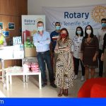 Adeje | Las demandas del Rotary Club Tenerife Sur tendrán espacio en el Parlamento