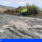 CC-PNC presenta una moción para impulsar el asfaltado de la TF-565 en Vilaflor y mejorar la seguridad vial