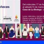 La Casa de La Bodega de Arona acoge una muestra de muñequería con trajes tradicionales