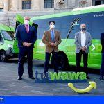 El proyecto piloto de transporte público «Tuwawa» se estrena en Fasnia y Arico