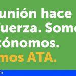 ATA: «Sólo Canarias y Baleares cuentan con suficiente presupuesto para cubrir las necesidades de sus autónomos»