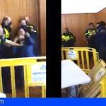 Seis vigilantes de seguridad de baja médica tras ser agredidos en Las Raíces