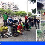 Tenerife | Promemar retira 147 kg de residuos del barranco del Barrio de la Alegría