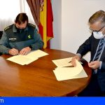 La Guardia Civil y el Colegio de Farmacéuticos de Tenerife firman un convenio en materia de seguridad
