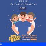 """La campaña del Día del Padre en Stgo. del Teide contará con un sorteo de premios directos """"Rasca y Gana"""""""