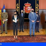 Anselmo Pestana hace entrega en Tenerife de las medallas al Mérito de la Protección Civil