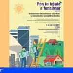Tenerife organiza una videoconferencia sobre instalaciones fotovoltaicas colectivas