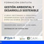 El Cabildo de Tenerife abre el plazo para la formación en gestión ambiental y desarrollo sostenible