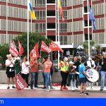 Arona | Los trabajadores del Hotel Alborada Ocean Club, desesperados por no cobrar sus salarios