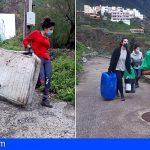 Promemar retira 158 kg de residuos en la costa de Taganana