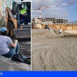 Granadilla | Salvar La Tejita: «Detectamos el movimiento no autorizado de dunas»