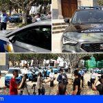 Arona incorpora 16 nuevos vehículos a la Policía Local, con la última tecnología
