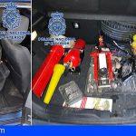 Tres familiares detenidos en Los Realejos por 14 delitos contra el patrimonio