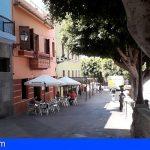 Guía de Isora regulará la instalación de terrazas para locales de restauración que sólo cuenten con espacio interior