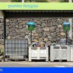 Los puntos limpios de Tenerife recibieron 41,8 millones de kilos de residuos en 2020