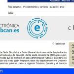 Canarias | En funcionamiento la Sede Electrónica Única, que optimiza la relación de la ciudadanía con la Administración