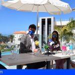 Santiago del Teide presenta la I edición de la Travesía a Nado South West Landmar