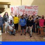 14 familias de El Fraile denuncian que las quieren echar de sus VPO, pese a tener contrato de alquiler con el gobierno canario