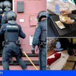 Veinte personas detenidas en Tenerife por tráfico de inmigrantes y drogas
